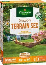 Vilmorin Semences de Gazon rustique pour Terrain sec - 1 kg