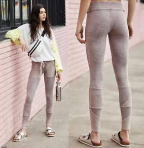 Free People Movement Kyoto High Rise Ankle Leggings Lavender Size Small