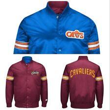Authentic Cleveland Cavaliers Reversible Starter NBA satin  jacket - Maroon