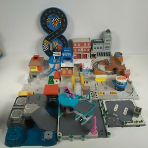 Vintage Micro Machines Playset Lot/Bundle Tiny's Fire Dept Police Station
