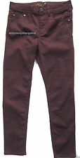 New Ladies Marks & Spencer Per Una Berry Red Jeggings Size 12 Short DEFECTS