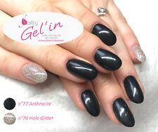 Vernis Semi Permanent NAILITY Gel'in UV/LED n°76 Holo Glitter 15ml GEL POLISH