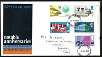 FDC - GB - 1969  Notable Anniversaries - First Day Cover