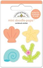 Doodlebug Design Doodle-Pops Sweet Seashells Stickers