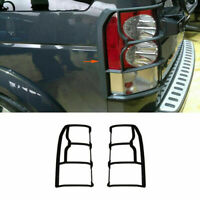 2x Back Tail Light Lamp Protector Guards Cover Fit For Land Rover Discovery LR4
