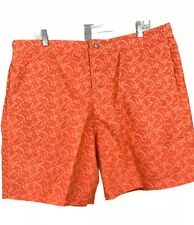 SOUTHERN TIDE XL Orange Fish Skipjack Batik Swim Trunks W/  Mesh Lining
