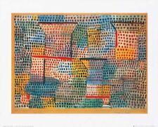 Kreuze und Saeulen - Paul Klee 40x50 KUNSTDRUCK POSTER PLAKAT BILD