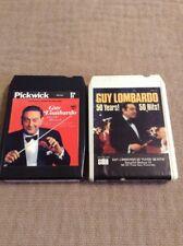 Guy Lombardo 50yrs-50 hits 8-Track And Guy Lombardo Sweet And Heavenly 2 8tracks