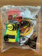 McDONALDS HAPPY MEAL TOY ~ 2016 HOT WHEELS SUPER HEROES ~ # 6 ROBIN ~ UNOPENED