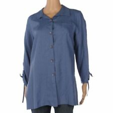 217d0d9a015c Women s Linen Tops and Blouses for sale
