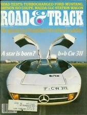 1979 Road & Track Magazine: Mercedes-Benz CW311/Ford Mustang/Datsun 810 Coupe