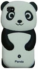 Silicone Skin Case for Apple iPhone 4/4S - Panda