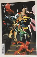 New ListingDc Justice League #45 Dan Mora Variant Cover In Beautiful Nm+ Condition