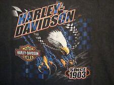 Harley-Davidson Motorcycles Guy W's Midland-Odessa TX Eagle T Shirt Size M