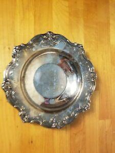Gorham Chantilly Silver Plate Dish YC1310