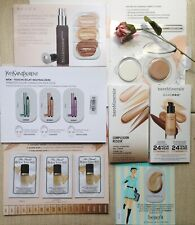 7-pc FOUNDATION & CORRECTOR Card Samples, bareMinerals, YSL, Becca, IT Cosm....!
