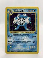 1999 Poliwrath Holo Foil Ultra Rare Base Set 2 Mint Pokemon Card 15/130