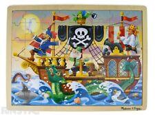 Melissa & Doug Pirate Adventure Jigsaw Puzzle 48pce