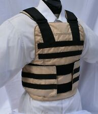 New Medium Tactical Body Armor Carrier with Level IIIA Inserts BulletProof Vest