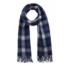 Pieces Schal RIMARNA Scarf Blau Fransen Fleece Schal Fleeceschal 200 cm 17066988