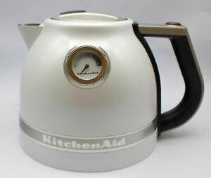 Kitchenaid Artisan Wasserkocher creme OHNE STANDBASIS / Gebraucht