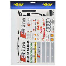 feuille décorative 1:10 AUDI A4 S-LINE DTM 2004 Sport sticker Carson 69094