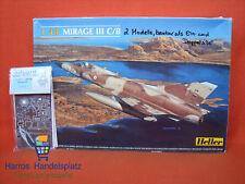 Heller ® 80411 Mirage III C/B 1:48 Eduard Fotoätzteile photo etched parts