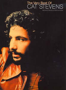 The Very Best Of Cat Stevens (PVG) Piano, Vocal and Guitar Chords (PIANO, VOIX,