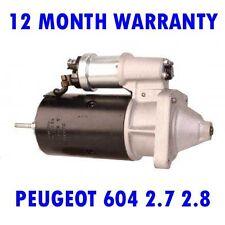 PEUGEOT 604 2.7 2.8 SALOON 1977 1978 1979 1980 1981 - 1987 RMFD STARTER MOTOR