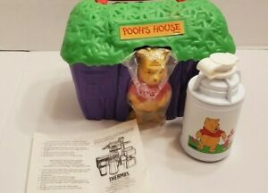 Vintage '90s Winnie the Pooh - Pooh's House Lunchbox & Thermos - Complete NEW
