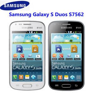Original Unlocked Samsung Galaxy S Duos S7562 Dual SIM 3G Smartphone 4GB Wifi