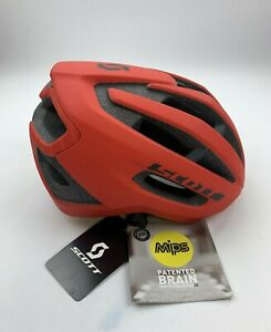Scott Fuga Plus MIPS Red Cycling Helmet Size Large New