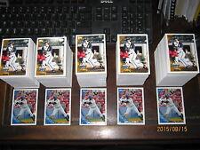 Five 2010 Topps Pro Debut series 2 sets (221-440) Goldschmidt Wilson rookies