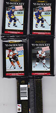 1993-1994 Pinnacle  Hockey Cards-5 Pack Lot