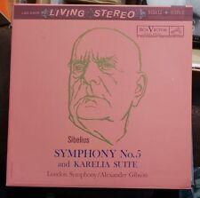 Sibelius Symphony No.5 and Karelia Suite LP Vinyl Analogue Productions LSC-2405