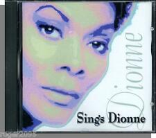Dionne Warwick - Dionne Sings Dionne - New 1998, 14 Song CD!