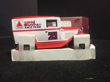 VINTAGE CITGO WOOD BROTHERS RACING TEAM FORD MODEL A DELIVERY VAN 1:25 BANK
