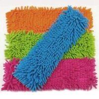 Micro Fiber Floor Mop Cleaner Blue Extendable Refill Head Laminate Tile Wet Dry