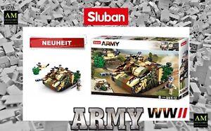 Sluban WWII Construction Set - German Tank - M38-B0858 - New/Boxed Army