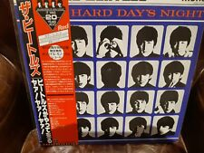 "Lp japan obi Beatles, ""A Hard Days Night"", Red Wax,  Vinilo NMint,  Carpeta NMin"