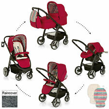 HAUCK CHILLI LACROSSE ALL IN ONE TRAVEL SYSTEM PUSHCHAIR PRAM CARRYCOT CARSEAT