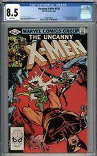 Uncanny X-Men #158 CGC 8.5 VF+ 1st Appearance of Rogue in Title WHITE PAGES