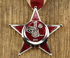 Mano de hierro media luna Gallipoli estrella de plata osmanisches rico turquía cruz cruz