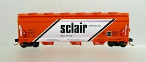 SCLAIR CENTERFLOW HOPPER CAR-N SCALE-MICROTRAINS