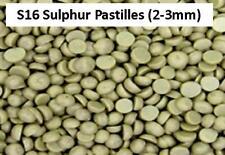 S16 Elemental Sulphur Chips Garden Fertiliser Potato Vegetable Flower Fertilizer