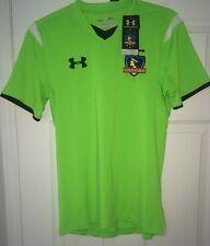 Under Armour Chili Soccer Futbol Colo-Colo 14/15 Shirt Jersey Small 1262280 NWT