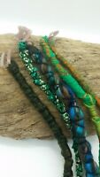 HANDMADE Hair Wraps Dreadlock Hippy Clip PickOne Wool Festival