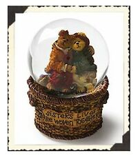Mk Boyds Bears Waterglobe 1E Diane & Joanie Sisters Forever Error Box #270519