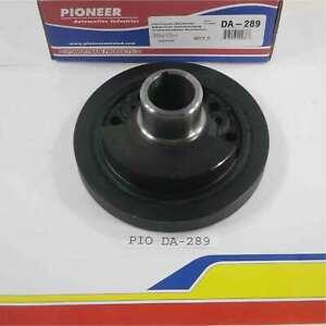 """Pioneer Products Da-289 Engine Harmonic Balancer SB Ford 289 6.5"""" 3 Bolt 28 Oz."""