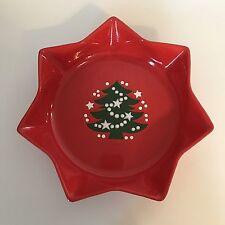 "Waechtersbach Christmas Tree 10"" Star Shaped Dish or Serving Bowl"